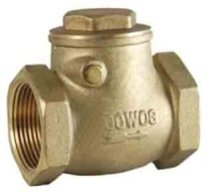 Buy 2 Quot Brass Swing Check Valve Fxf Threaded Ends Online Here
